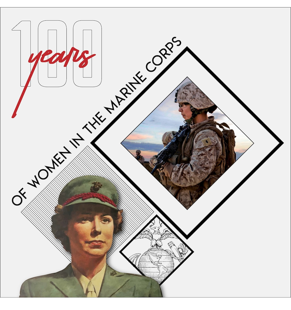 A century of solidarity: Celebrating 100 years of women serving in the Marine Corps