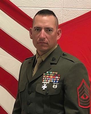 First Sergeant, Fox Company, 2nd Battalion, 24th Marine Regiment