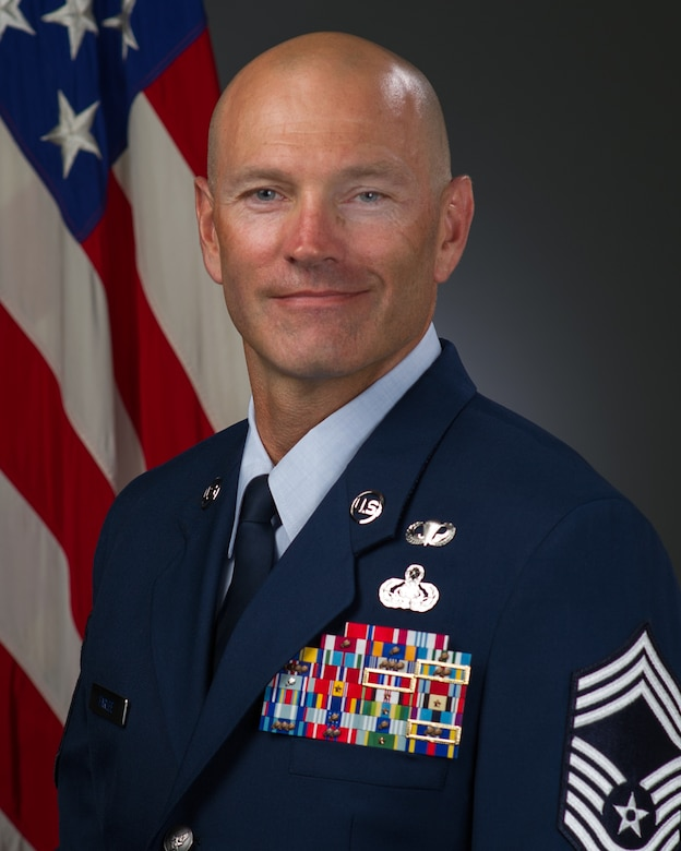 Chief Master Sgt. Todd Farlee, official photo, U.S. Air Force