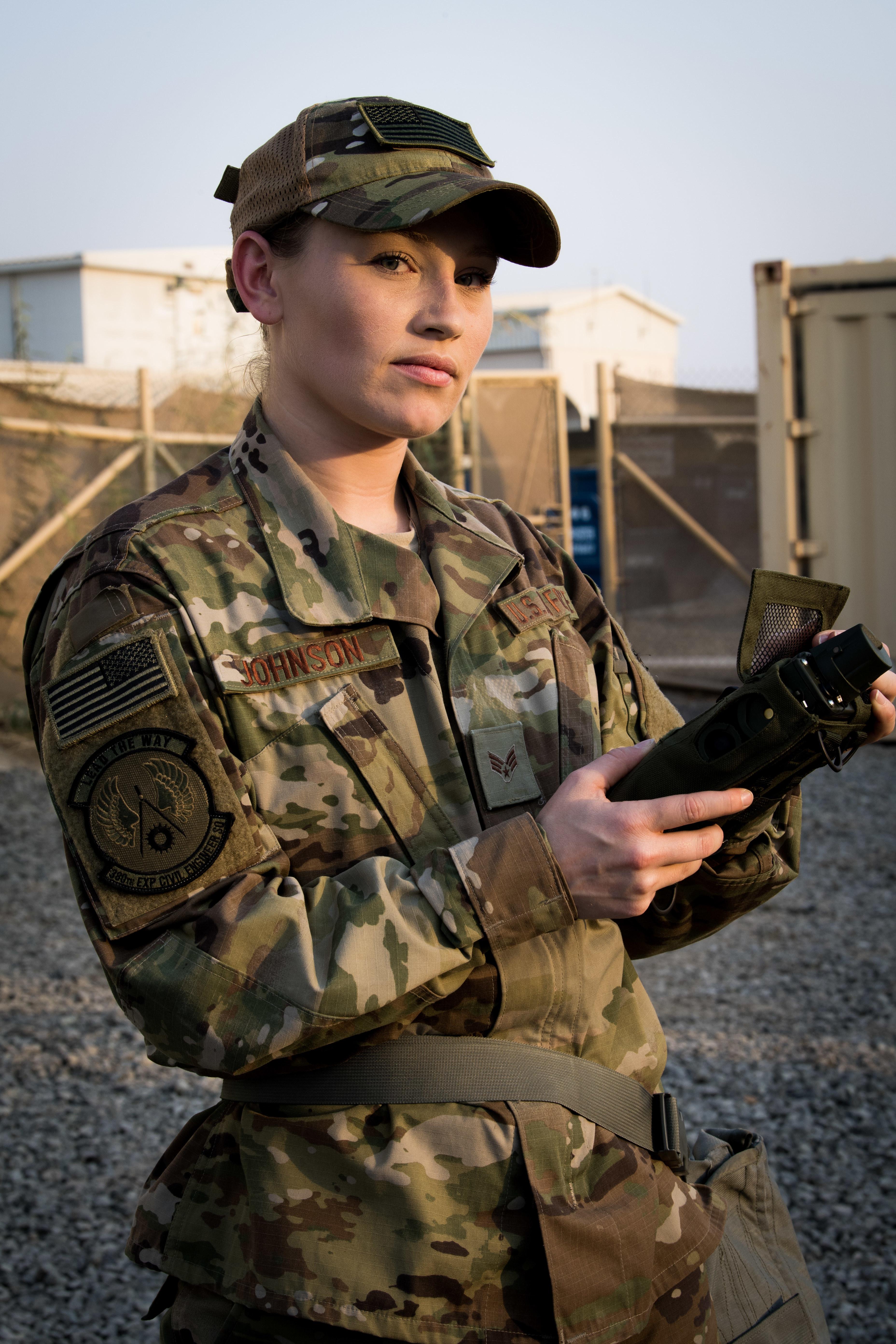 I wanted to serve - Senior Airman Rachel Johnson > U S  Air