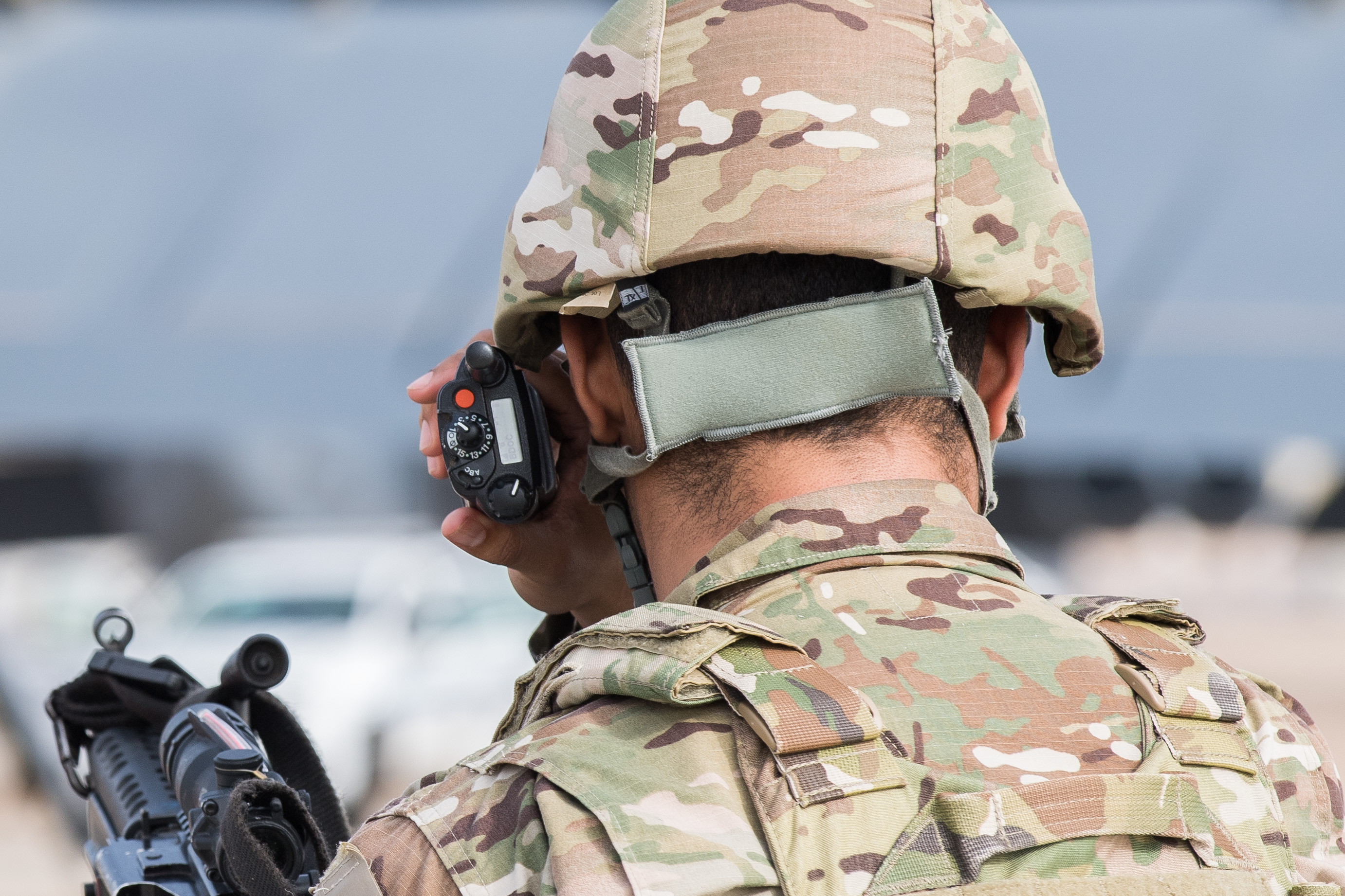 US Airmen – 2nd Security Forces Squadron Secure Barksdale Air Force Base
