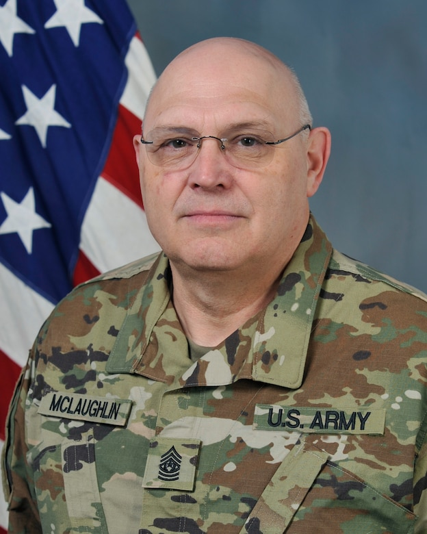 Command Sgt Maj Bobby L McLaughlin Jr U S Army