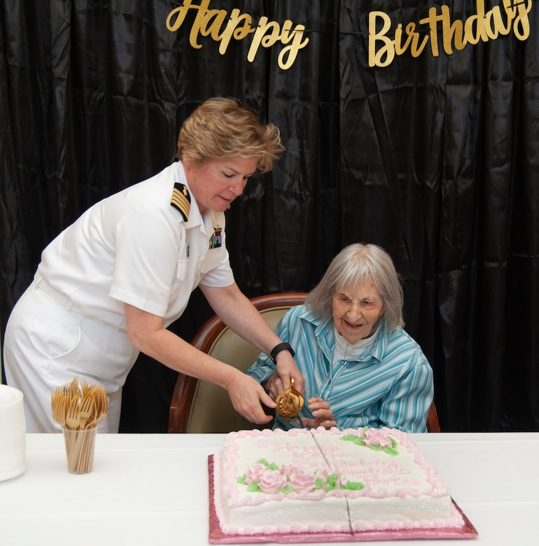 Magnificent Nurse Corps Officers Wish Wwii Navy Nurse Happy 100Th Birthday Personalised Birthday Cards Epsylily Jamesorg