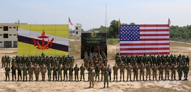 U.S. Army Pacific conducts first army-to-army exercise in Brunei