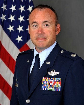 """Lt. Col. Keith Shearin, 96th Flying Training Squadron commander, goes into the role of a Citizen Airman in Laughlin's big picture. """"Regardless of the reservist's status or background, the 96th FTS is proud to contribute to Laughlin's total force unit,"""" Shearin said. """"Our Total Force Integration reinforces the base's mantra 'We are Laughlin.'"""""""