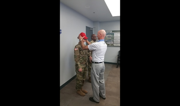 DLA Distribution Rigger's Operations NCO promoted to Army Staff Sergeant