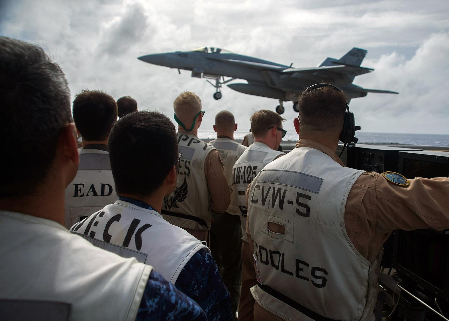 Ronald Reagan Strike Group and JMSDF Conduct Bilateral Training