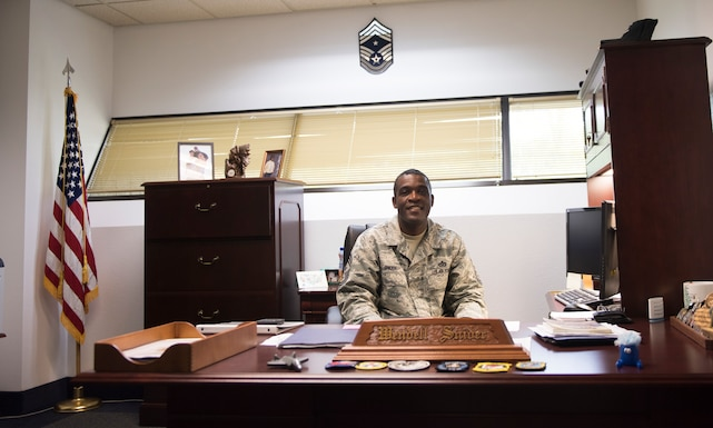 New Gunfighter Command Chief shares his thoughts on mission, Air Force