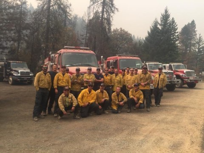 Vandenberg Supports California Firefighting Efforts