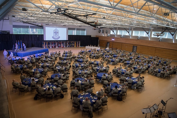More than 400 Airmen representing Air National Guard units from each state and territory attended the Enlisted Leadership Symposium (ELS), a three-day event focused on leadership and professional development August 15, 2018 at Camp Dawson, W.Va. (U.S. Air National Guard Photo by Airman 1st Class Caleb Vance)