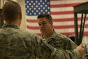 Yancy visits Sheppard AFB
