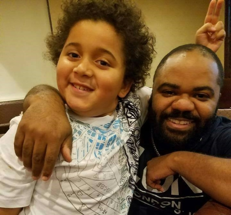 Richard Cooper, a marketing specialist with the Air Force Services Activity, is a father figure through his volunteerism with Big Brothers Big Sisters of San Antonio.