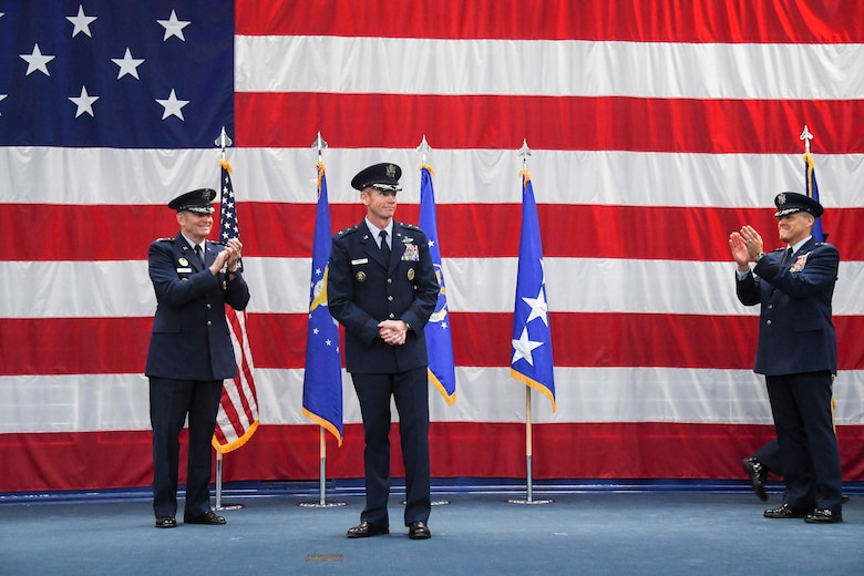 8th Air Force Change of Command