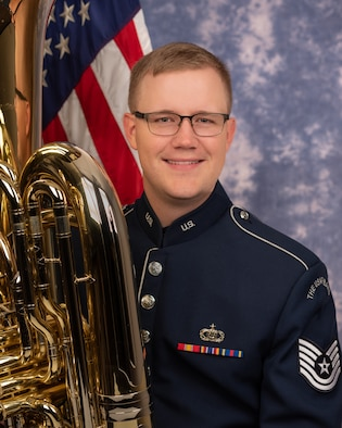 Technical Sgt. Ben Malmer is a tubist with the Ceremonial Brass, The United States Air Force Band, Joint Base Anacostia-Bolling, Washington, D.C. A native of Houston, Texas, his Air Force career began in 2018.