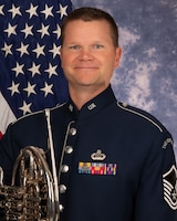 Master Sgt. Joel Wealer is a French hornist with the Ceremonial Brass, The United States Air Force Band, Joint Base Anacostia-Bolling, Washington, D.C. A native of Hannibal, Missouri, his career in the Air Force began in June 2002 as a member of the Concert Band. He joined the Ceremonial Brass in 2015.