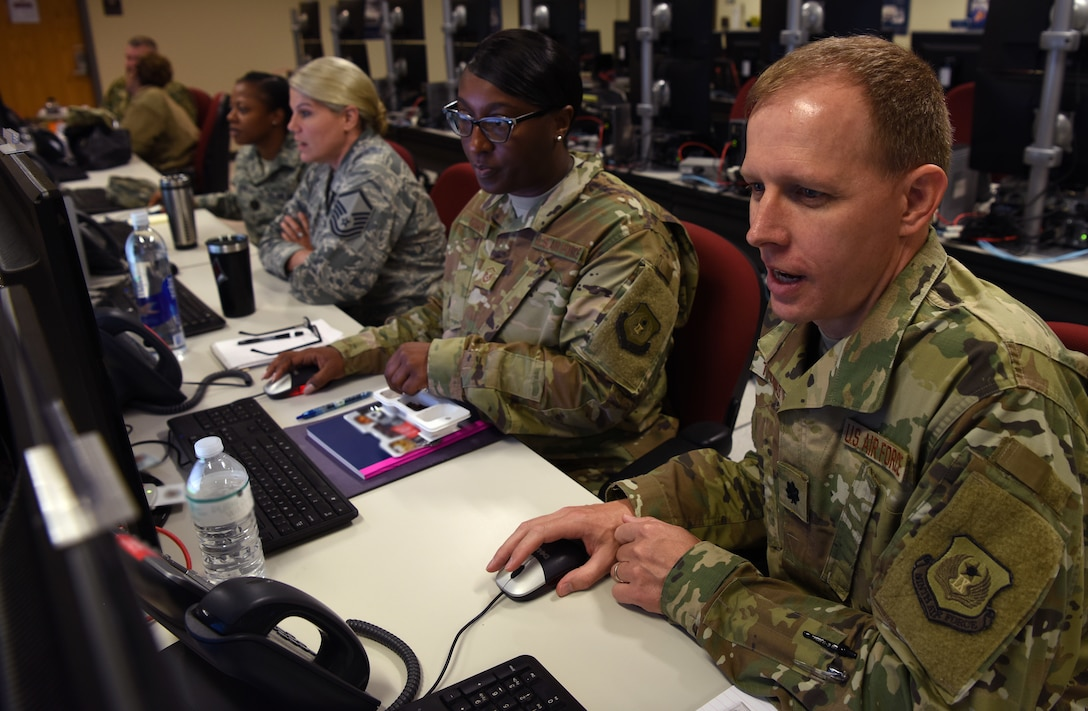 Ninth Air Force participates in STAFEX 18-5