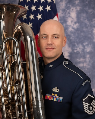 Technical Sgt. Jess Lightner is a tubist with the Ceremonial Brass, The United States Air Force Band, Joint Base Anacostia-Bolling, Washington, D.C. A native of Garden City, Kansas, his Air Force career began in 2003.