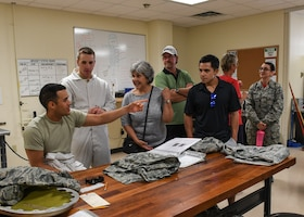 Marquez family visits Sheppard AFB