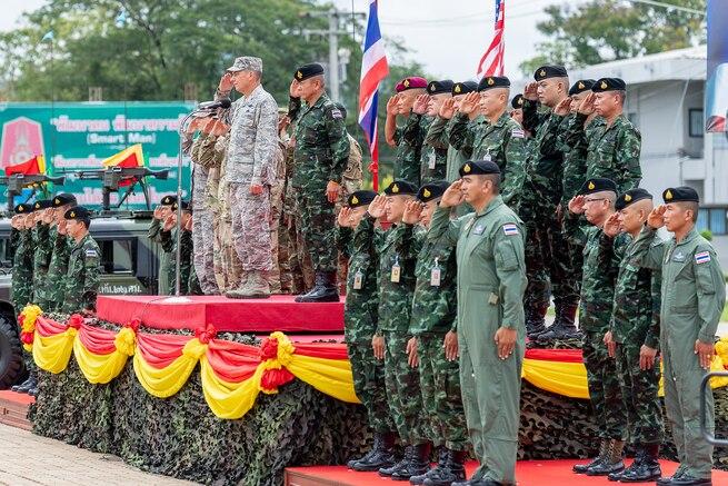 U.S. Army, Army National Guard begin Hanuman Guardian 2018 with the Royal Thai Army