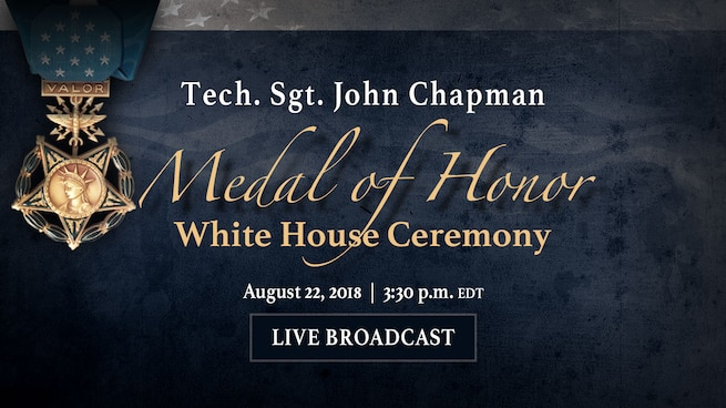 Medal of Honor White House Ceremony Graphic