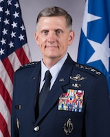Official Portrait of General Timothy M. Ray, Commander, Air Force Global Strike Command