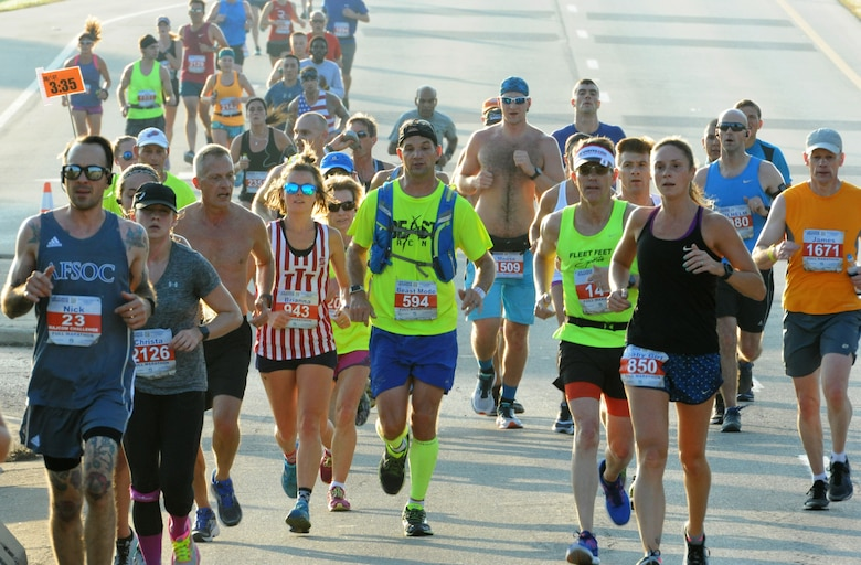 Runners registered for the 2018 Air Force Marathon who can no longer participate can transfer their registrations to others soon.