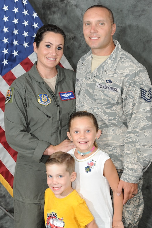 Married military couple in the same wing.