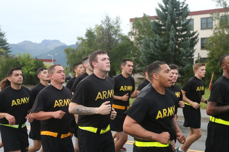Spartans run for National Airborne Day