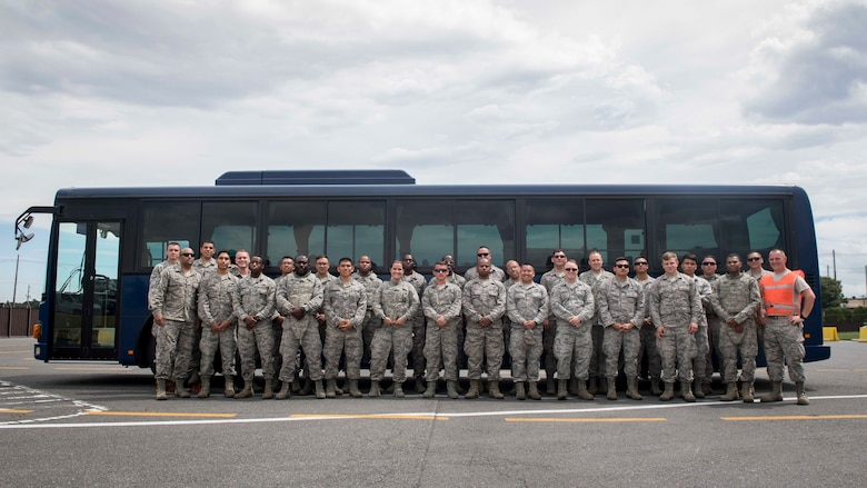 374th LRS ground transportation rodeo