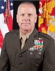 Command Board photo of Maj. Gen. Michael F. Fahey III, Commander, MARFORSOUTH