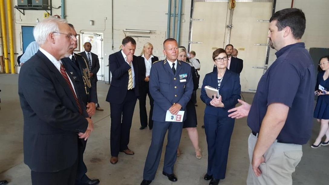 U.S. Army Engineer R&D Center provides venue for U.S. – Sweden Senior Cooperation Forum