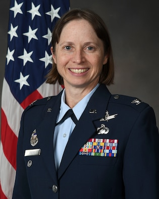 Colonel Elena Oberg, vice commander of the Air Force Research Laboratory