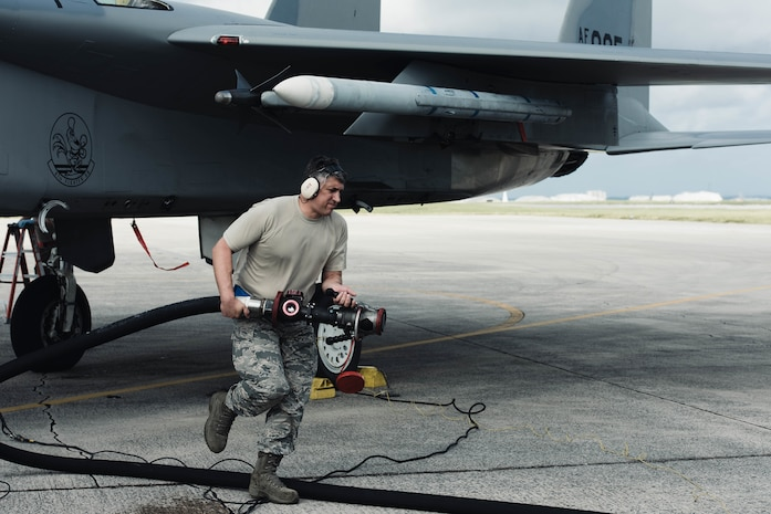 Reservists at the Ready: 927th 927th Air Refueling Wing Augments Team Kadena