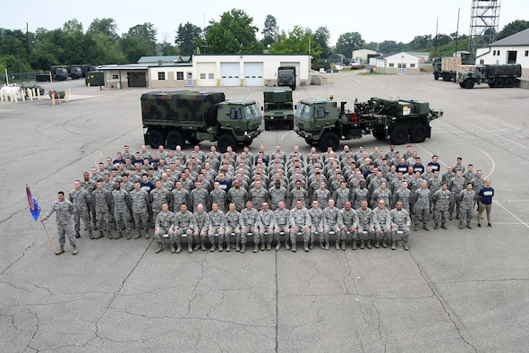 photo of 123rd ACS members