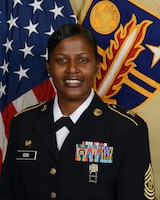 Command Sergeant Major Kimala Cox