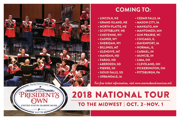 2018 National Concert Tour
