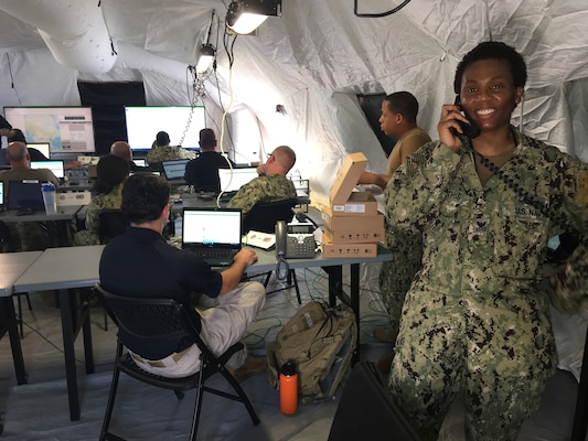 JTF-CS Commanding General participates in his exercise with