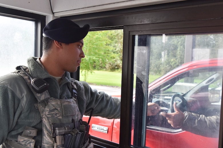 Due to increased personnel during RED FLAG-Alaska operations, the 354th SFS requested support from other units to ensure the base's security.