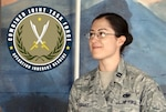 Air Force Capt. Cynthia Rodriguez received the Defense Logistics Agency Company Grade Officer of the Quarter