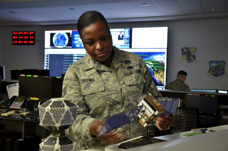 Staff Sgt. Terica Clewis has been assigned to the Air Force Technical Applications Center performing various roles for the past three years. Her current duties include designing innovated software systems that assist center personnel (as well as the rest of the Air Force) efficiently manage, store and process large-scale data.