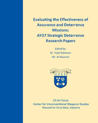 The Air University Deterrence Research Task Force, composed of Air War College and Air Command and Staff College students, developed a series of papers in response to a research question from Gen Robin Rand, Commander, US Air Force Global Strike Command, focused on the evaluation of bomber assurance and deterrence missions. This collection of papers represents ongoing critical thinking on strategic policy issues conducted at Maxwell, AFB.