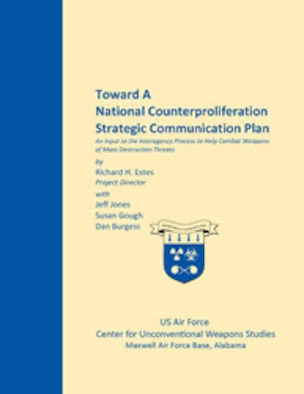 The strategic goals and objectives for counterproliferation, and the strategic communication objectives supporting those national strategic goals, are interconnected with other national security objectives and vice versa. This strategic communications plan includes strategic goals, strategic communication objectives, agency roles and responsibilities, a discussion of the strategic communication process, and recommended audiences, themes and messages for a national-level strategic communication plan to combat the proliferation of weapons of mass destruction. It also includes a representative year-long projection of national security-related events which provide informational and influencing opportunities, and special sections on Iran, North Korea, and India.