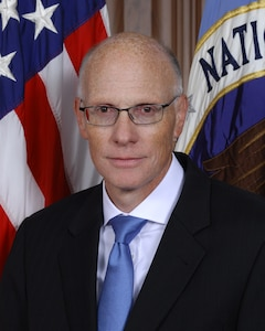 Portrait of George C. Barnes, Deputy Director National Security Agency