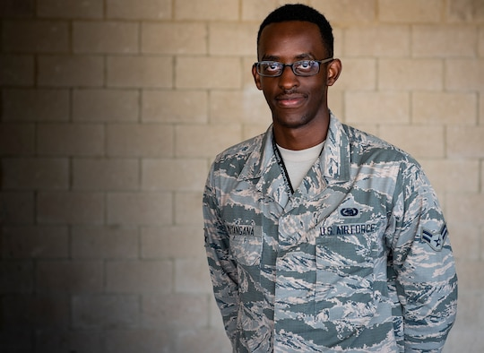 From immigrant to Airman