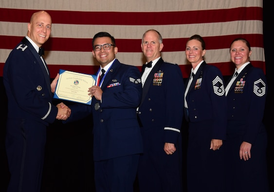 More than 40 Airmen graduated from Airman Leadership School, Class 18F, August 23, 2018, McConnell Air Force Base, Kan.  The graduates included four members of the 931st Air Refueling Wing.