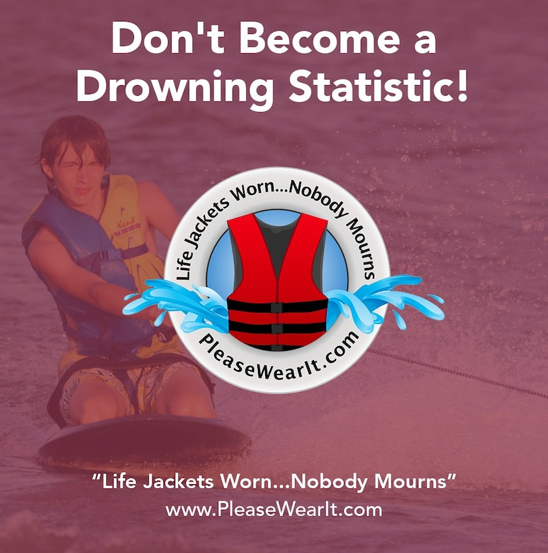 The Kansas City District encourages you to be safe this Labor Day Weekend. Remember to always wear a life jacket in and around the water.