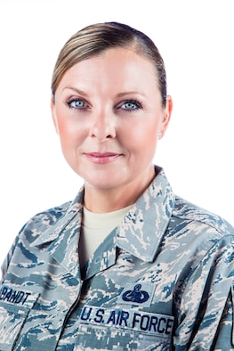 Senior Master Sgt. Shawna Brabandt is a logistics inspector at 25th Air Force and Headquarters Air Combat Command.