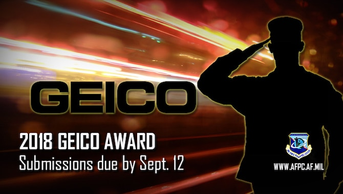 2018 GEICO Award; submissions due by Sept. 12