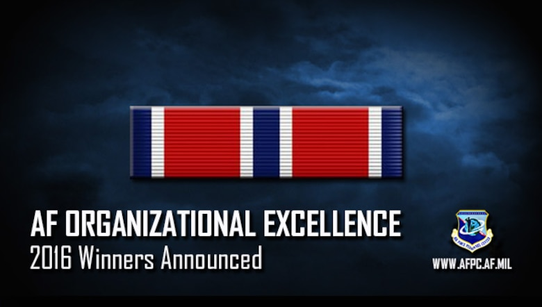 AF Organizational Excellence; 2016 Winners Announced