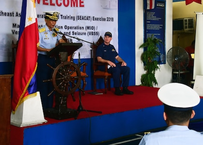 17th SEACAT Exercise Kicks-Off with 9 Nations